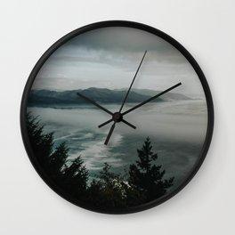 Oregon Coast (color) Wall Clock