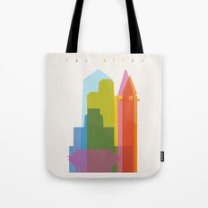 Shapes of San Diego Tote Bag