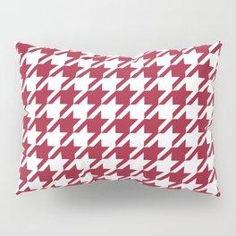 Bama crimson tide college state pattern print university of alabama varsity alumni gifts houndstooth Pillow Sham