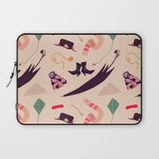 Practically Perfect Pattern Laptop Sleeve
