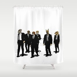 Reservoir Dawgs Shower Curtain