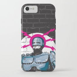 Robocop In Love iPhone Case