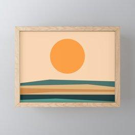 Abstract Landscape 10B Framed Mini Art Print