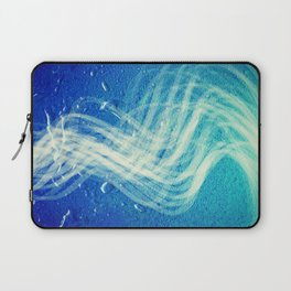 Linear Flow2-Blue Gradation Laptop Sleeve