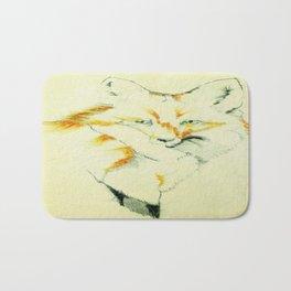 Fading Fox Bath Mat