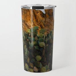 Giant Desert Cactus in Big Bend National Park Travel Mug