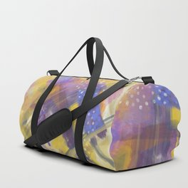 Abstract Arial design Duffle Bag