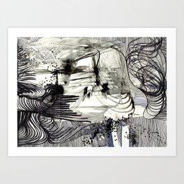 Midnight Feels Art Print