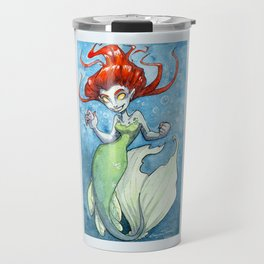 Scary Mermaid Travel Mug