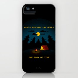 Let's Explore the World iPhone Case