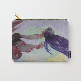 Japanesse Fighting Fish Carry-All Pouch