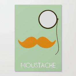 Moustache 1 Canvas Print