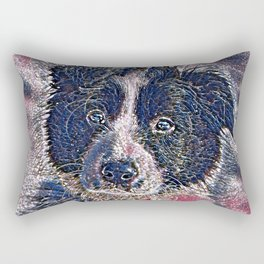 GlitzyAnimal_Dog_011_by_JAMColors Rectangular Pillow