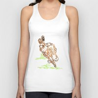 hare Tank Tops featuring Hare by Simon Boulton