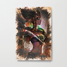 League of Legends SUN GODDESS KARMA Metal Print