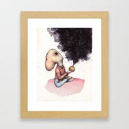Bigg Bhang Framed Art Print