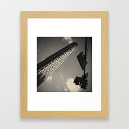Flat Iron Building Framed Art Print