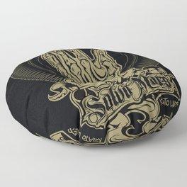 Total Recall inspired print Floor Pillow