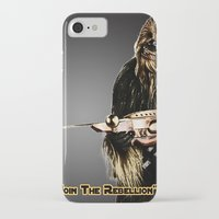 chewbacca iPhone & iPod Cases featuring Chewbacca by KL Design Solutions