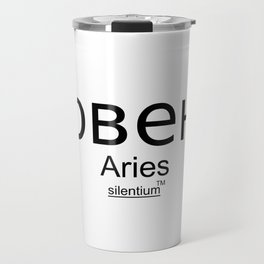 Aries - Овен, Horoscop Zodiac Sign Travel Mug