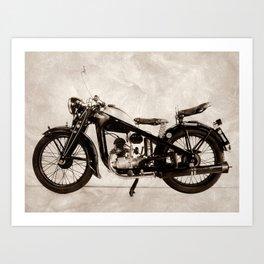 Puch 200 Volksmodel Art Print