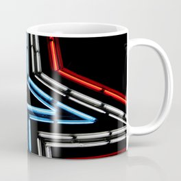 Neon Star Coffee Mug
