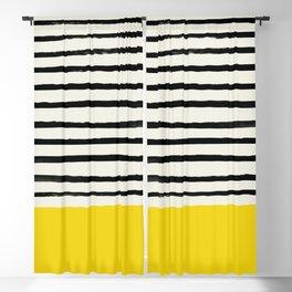 Sunshine x Stripes Blackout Curtain