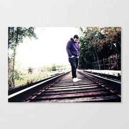 A Loner.  Canvas Print