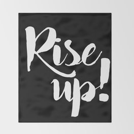 RISE UP! Throw Blanket