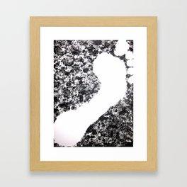 Walk Tall Abstract Art by Zee Clark Framed Art Print