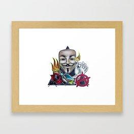 Guy Fox Framed Art Print