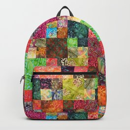 Quilt Piece Backpack
