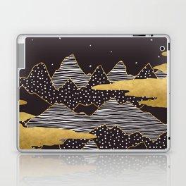 Gold Mountain Peaks Laptop & iPad Skin