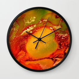 Burning Earth Series Wall Clock