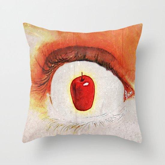 Apple of My Eye 000 Throw Pillow