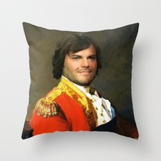 Jack Black Canvas Art Throw Pillow