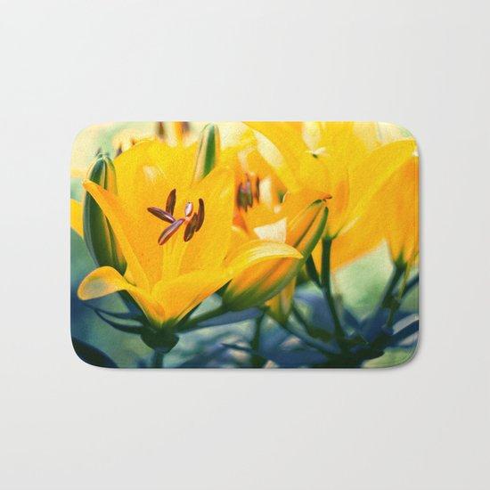 Summer Lilies II Bath Mat