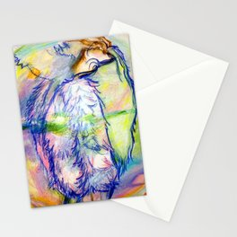 BUBBLE GURL Stationery Cards