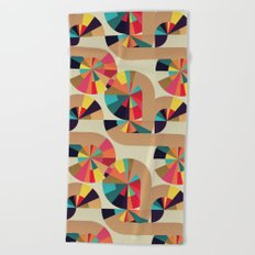 Kaleidoscope Pattern Beach Towel