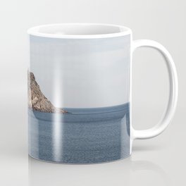 Greek seascape - landscape photography poster - Cape Sounio - Greece Coffee Mug
