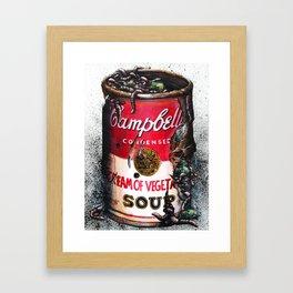 Cream of Vegetable Framed Art Print