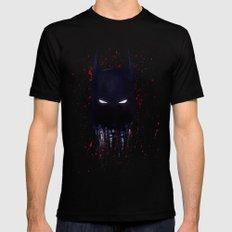 The Dark Knight Black Mens Fitted Tee MEDIUM