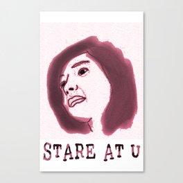 STARE Canvas Print