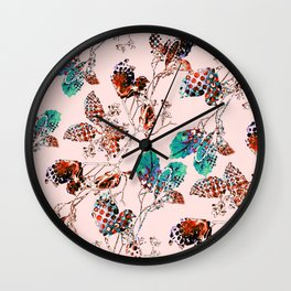leave and branch Wall Clock