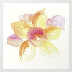 Sunflower Watercolor Art Print