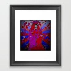 Psychedelic Emperor Framed Art Print