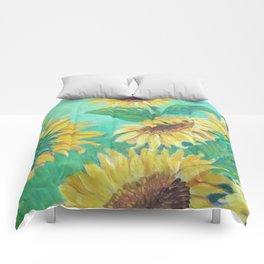 Girasoles Comforters