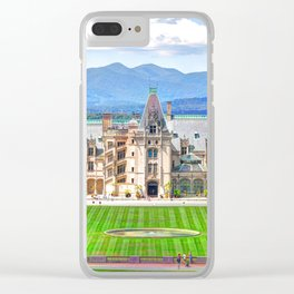 Biltmore House Clear iPhone Case