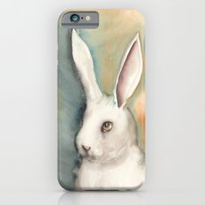 Portrait of a White Rabbit Slim Case iPhone 6s