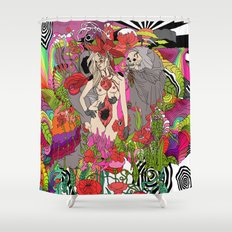 We'll Take Care of You Shower Curtain